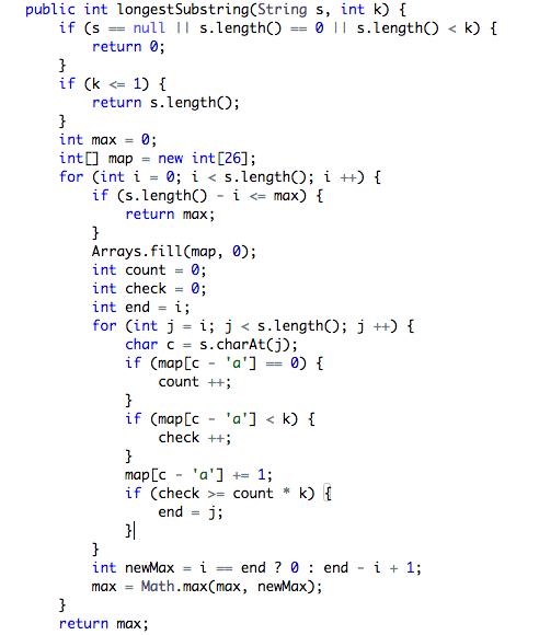 Java O(n^2) iterator and backtracking solution  - LeetCode