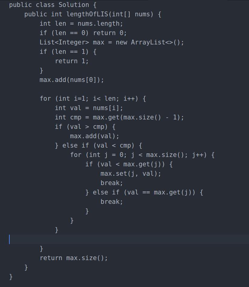 Longest Increasing Subsequence - LeetCode Articles