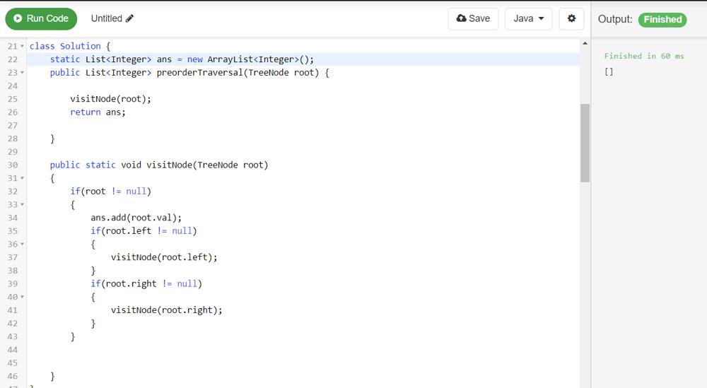 Bug in code (Java) - LeetCode Discuss