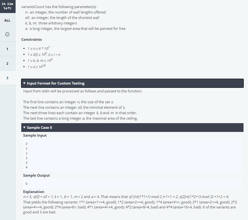 Roblox Hackerrank Challenge Questions Roblox New Grad Online Assessment Questions Leetcode Discuss