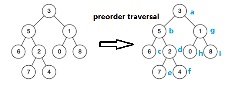 C# find path using preorder traversal and also use backtrack