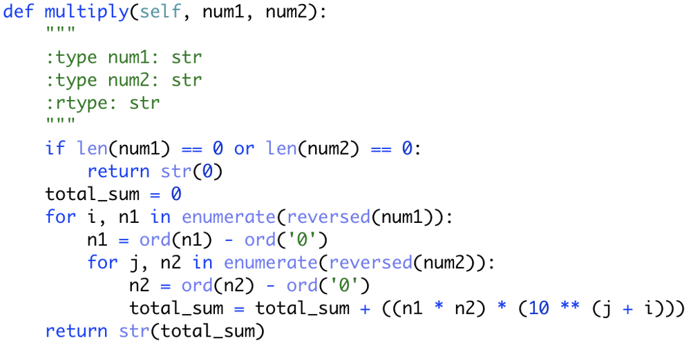 Python Solution using Addition - LeetCode Discuss