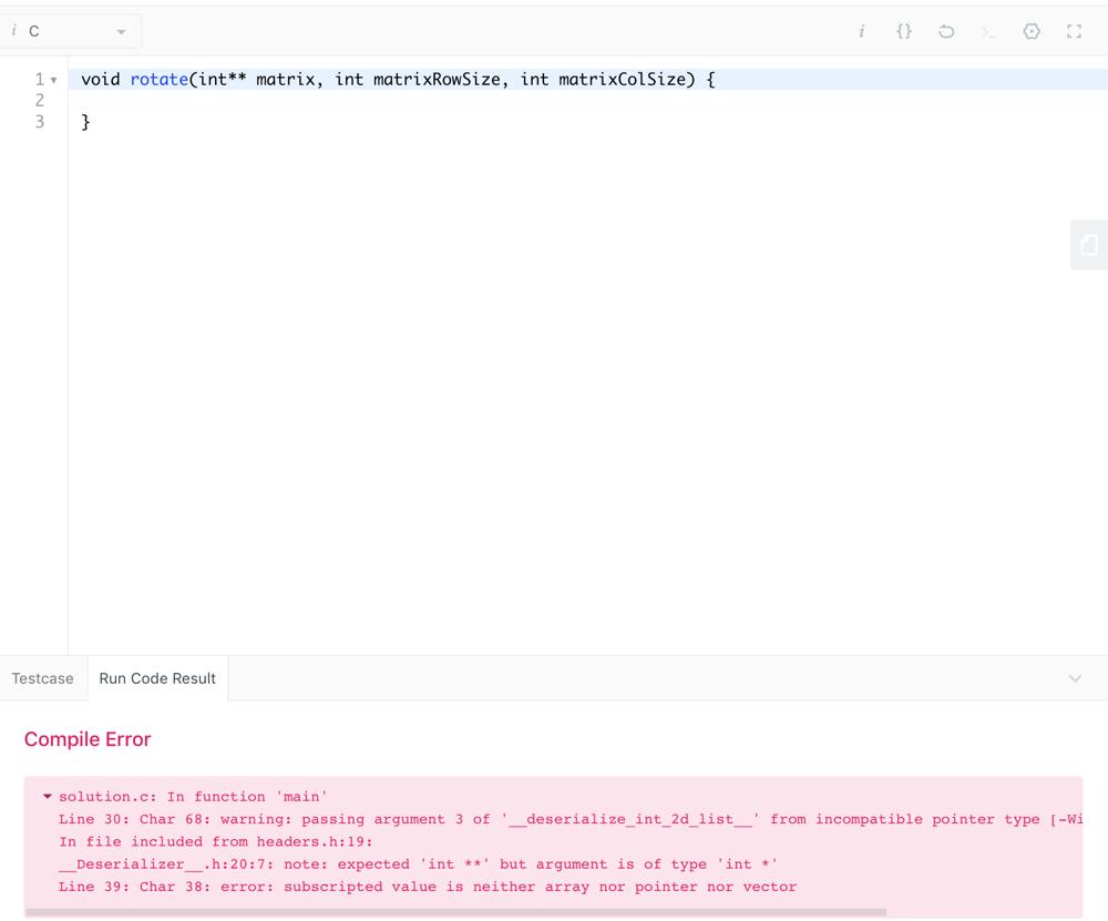 48][378] C test code has a bug  - LeetCode Discuss